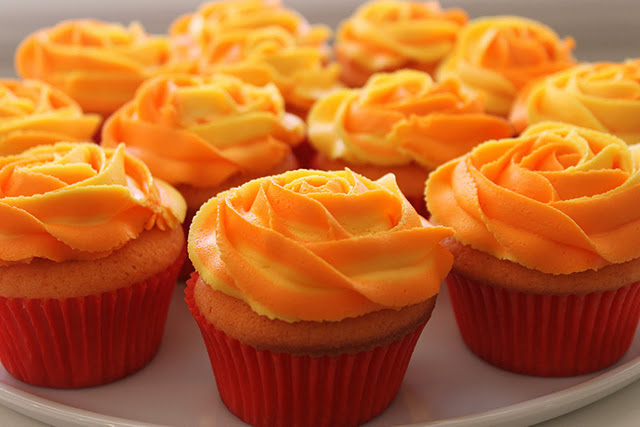  Easy Orange Cupcake Ideas